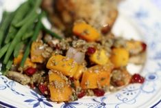 Freekeh with Roasted Butternut Squash and Dried Cranberries   Oldways
