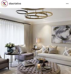 35 The Best Luxury Living Room Designs from Favorite Celebrities Trap - gameofthron Home Living Room, Interior Design Living Room, Living Room Designs, Living Room Decor No Tv, Living Room Side Tables, Apartment Living, Interior Livingroom, Living Area, Dining Room