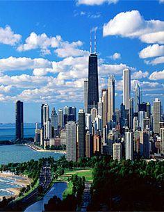 Chicago Skyline - John Hancock building