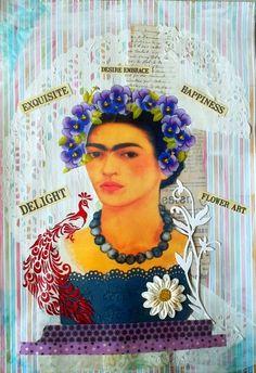 Bastelmania: Happy Mail, Frida and raindrops
