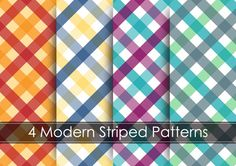 plaid background vector graphics