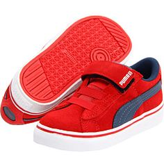 Tex has these in blue and orange. These can be his next pair. Grow feet grow!