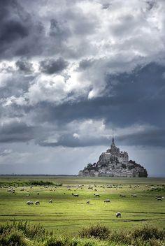 Le Mont St.Michel, Normandy, France.