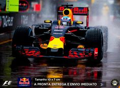 Adesivo Red Bull Racing RBR F1 Formula 1 Sticker