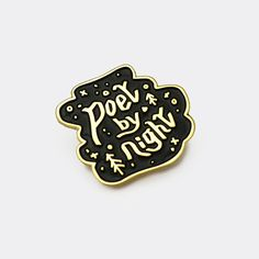 poet by night pin