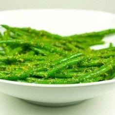 Pesto Green Beans and South Beach Diet Phase 1 Week 1 Update