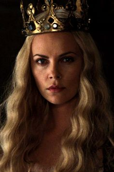 Charlize Theron as Queen Ravenna - Snow White and the Huntsman. I can picture Guinevere this way.