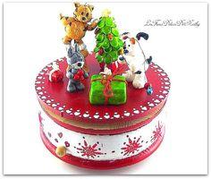 boîte à musique 3 ptits amis fêtent Noël : Boîtes, coffrets par lesfimodelicesdenathy