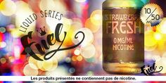 e-liquide Fuel Series Strawberry Fresh