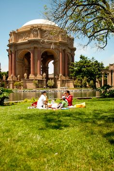 Palace of Fine Arts - one of my favorite spots in San Francisco