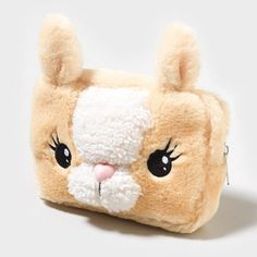 Bunny Cosmetic Bag. at Claire's or claires.com