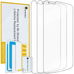 Amazon.com: Mr Shield For LG Premier LTE Premium Clear Screen Protector [3-PACK]…