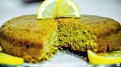 Torta integrale al limone - torta per diabetici con stevia