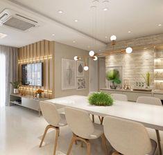 Beautiful Home Decor Ideas Home Living Room, Living Room Decor, Living Comedor, Dining Room Design, Home Furniture, House Design, Decoration, Home Decor, Cadiz