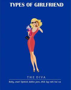 The Diva Types of #girlfriend  #GFRIEND #gftweet #factsnotfear #fact