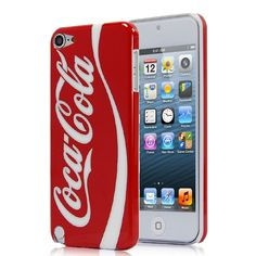 CocaCola Pattern Glossy Hard Case Cover for iPod Touch 5 - Red [DP38146] - US$2.02 : dp-gate.com