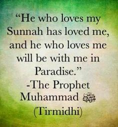 Loving Prophet Muhammad (pbuh) means we need to follow his lead. Learn about this here: