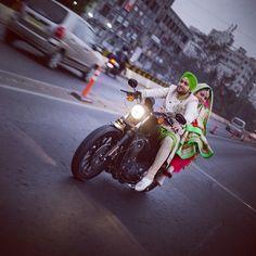 "jabsinc: "" Pre wedding / Jabs inc. #jabsinc #jabs #jabsincstudio #nagpur #photography #canon #sikh #pag #desi #punjabi #harley #harleydavidson #biker #justmarried #ride #rider #green #pink #viyah..."