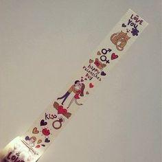 Washi Tape San Valentin