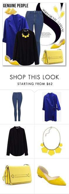 """""""GENUINE PEOPLE"""" by amra-mak ❤ liked on Polyvore featuring Uniqlo, Marc Fisher LTD, women's clothing, women's fashion, women, female, woman, misses, juniors and Genuine_People"""