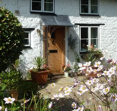 Metal Trellis Panels, Door Canopy, Marquise, Refurbishment, Rose Cottage, Window Boxes, Galvanized Steel, Porches, Front Porch