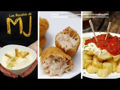(2061) LAS 10 MEJORES TAPAS | Especial 500.000 suscriptores - YouTube Food Decoration, Muffin, Appetizers, Menu, Lunch, Cheese, Cooking, Breakfast, Youtube