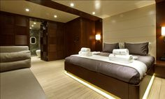 #Inifinit's main cabin designed and engineered by #Navalstudio