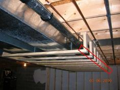 One of the most important things to consider when remodeling your basement is the basement ceiling. People find basement ceilings a bit hideous and if you are of the same opinion, then you need to … Framing Basement Walls, Low Ceiling Basement, Basement Guest Rooms, Basement Layout, Basement Laundry, Basement Apartment, Basement Plans, Basement Flooring, Basement Bathroom