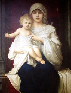 """LORD my God, I called to you for help, and you healed me.-This is a photograph of an old Italian painting from the late 1800's called """"The Immaculate Conception"""" from a Catholic hospital."""