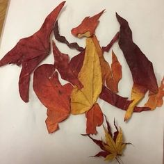 Charizard in its new leaf-type form :V