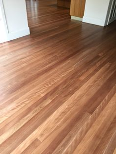 A beautiful Brushbox floor done with Bona Traffic HD extra  matt finish by yours truly.