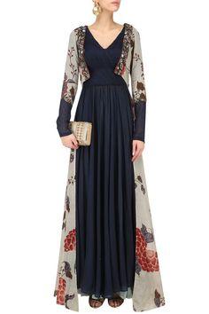 Dress combi batik