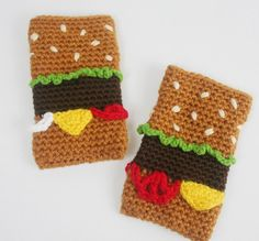 Hamburger iPhone gadget cozy (i)
