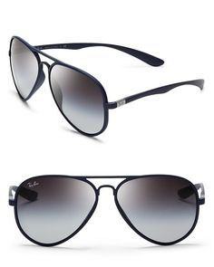 Ray-Ban Thermoplastic Aviator Sunglasses - All Sunglasses - Sunglasses - Jewelry & Accessories - Bloomingdale's