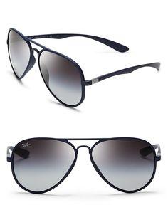 Ray-Ban Thermoplastic Aviator Sunglasses - All Sunglasses - Sunglasses - Jewelry & Accessories - Bloomingdale's