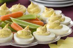 Grandma's Deviled Eggs | MrFood.com