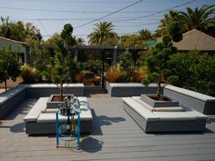 Outdoor Living Area With Hot Tub and Built-In Seating : Designers' Portfolio : HGTV - Home & Garden Television