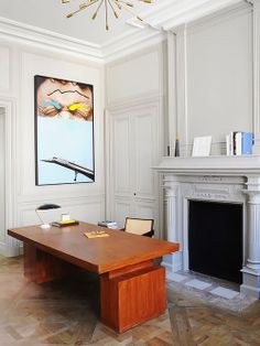 Home office. Arquiteto: Joseph Dirand. Fotógrafo: Adrien Dirand - AD France