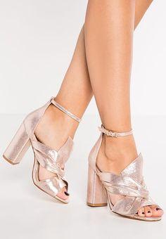 Chaussures Miss Selfridge CANDY - Sandales - rose gold or rose: 65,00 € chez Zalando (au 13/01/17). Livraison et retours gratuits et service client gratuit au 0800 915 207.