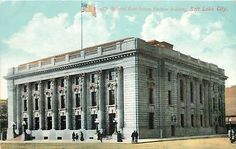 Postcards - Page 3 Capitol Building, Church Building, General Post Office, Mormon Temples, Utah Usa, Salt Lake City Utah, City Art, Vintage Postcards, Federal