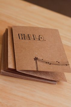 Need a whimsical little hand-drawn note card? ...they're now for sale! ;)