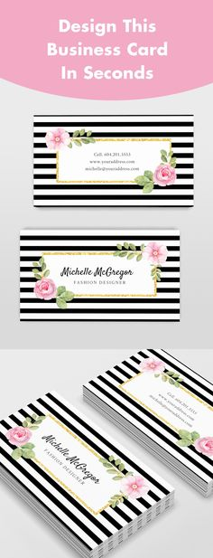Design this Beautiful Business Card in Seconds! It's easy and FREE to use. Exclusively by Jukebox Print Free Business Cards, Craft Business, Business Tips, Free Printable Business Cards, Free Business Card Design, Creative Business, Craft Fairs, Free Printables, It's Easy