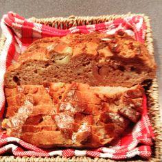Chestnut bread for breakfast