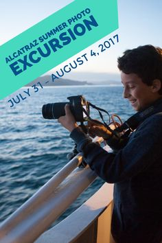 This intermediate photography camp for kids ages 11 – 14 includes a shooting expedition to Alcatraz Island. Summer Photography, Photography Workshops, Children Photography, Adobe Photoshop Lightroom, Summer Photos, Camping With Kids, Summer Kids, Teen, Island