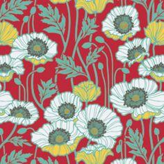 Coming in November 2012: Joel Dewberry's Notting Hill line. Lovin' this poppy print!