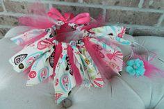 Scrap+fabric+tutu+shabby+tutu+birthday+tutu+by+LittleBirdBands
