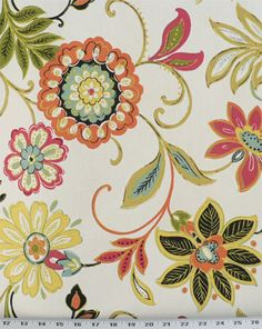 Avery Garden | Online Discount Drapery Fabrics and Upholstery Fabric Superstore! - $15.98/yard