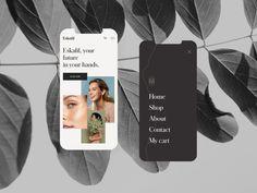 Responsive Web Design for Eskafil by outer on Dribbble