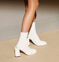 #white #backstage #heels