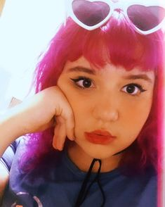 Rosa Pink, Fez, Girl Power, Sunglasses, Instagram, Fashion, Multi Coloured Hair, Thoughts, Everything
